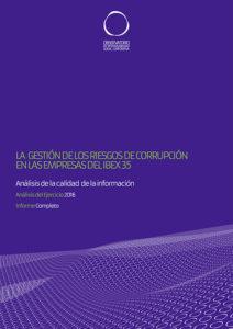 La gestión de la corrupción en las empresas del IBEX 35
