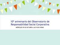 Aniversario Observatorio RSC