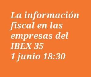 La información fiscal en las empresas del IBEX 35