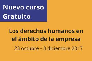 Curso gratuito: Empresa y Derechos Humanos