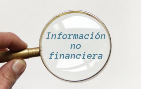 Transparencia de la información no financiera