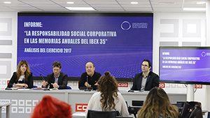 La ley de información no financiera no provoca una mejora en la calidad de la información de las empresas del IBEX 35