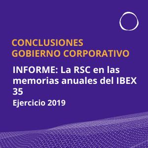 La informaci贸n de Gobierno Corporativo, margen de mejora en las empresas del IBEX 35
